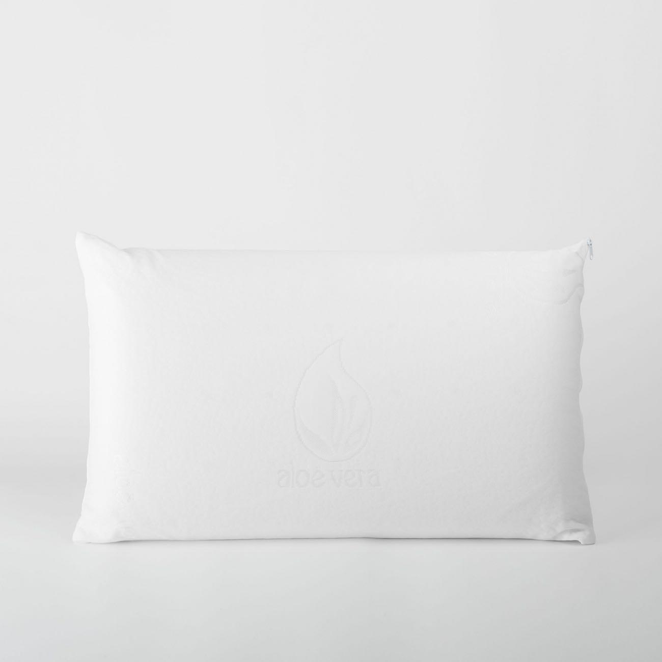 Enchimento de Almofada Branco Confort Viscoelástica