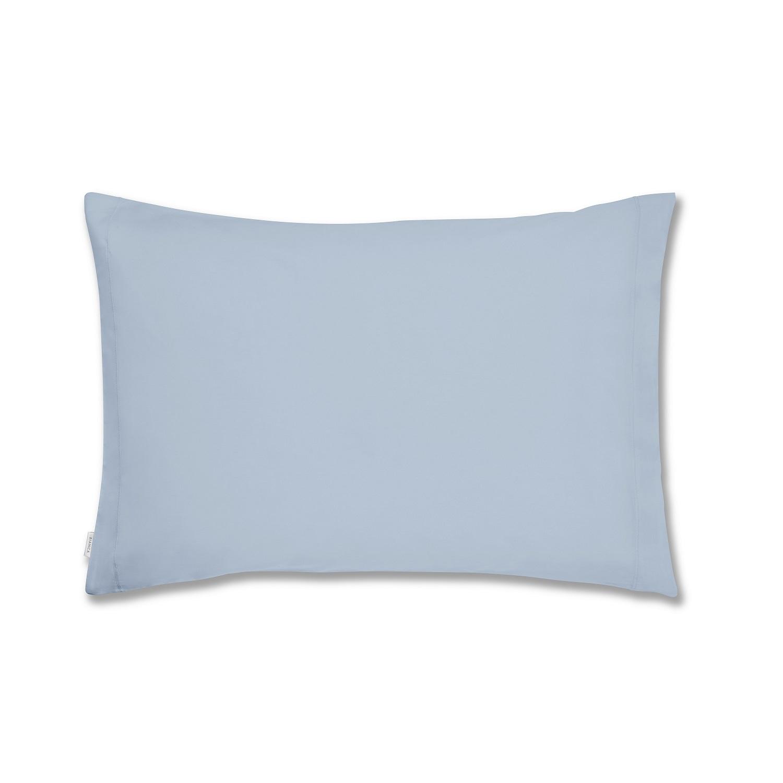 Fronha de Almofada Azul Percale Macio