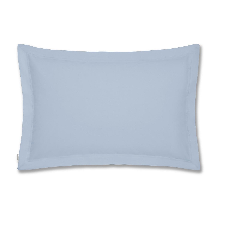 Fronha de Almofada c/ Aba Azul Percale Macio