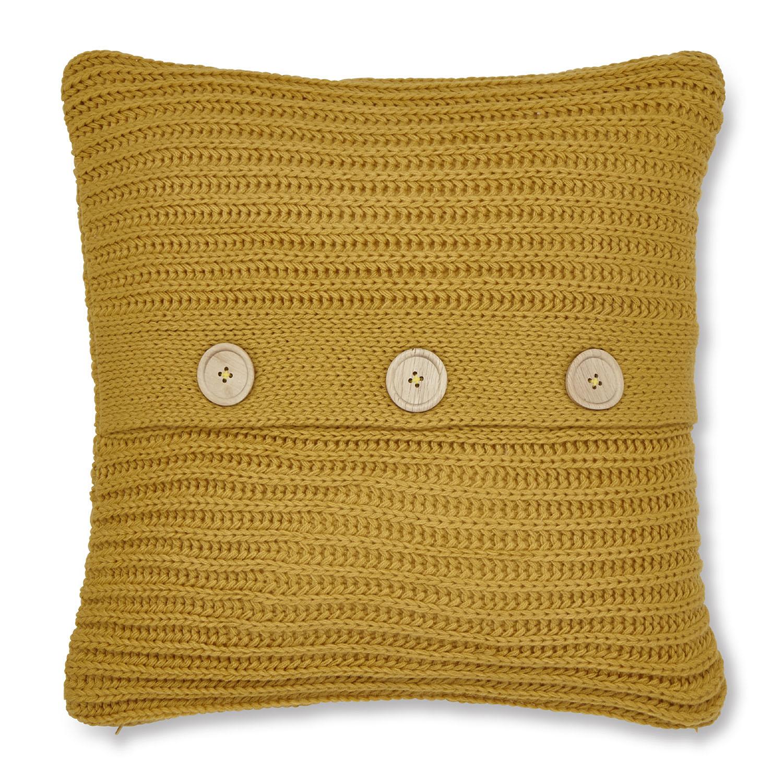 Capa de Almofada Ochre/Amarela