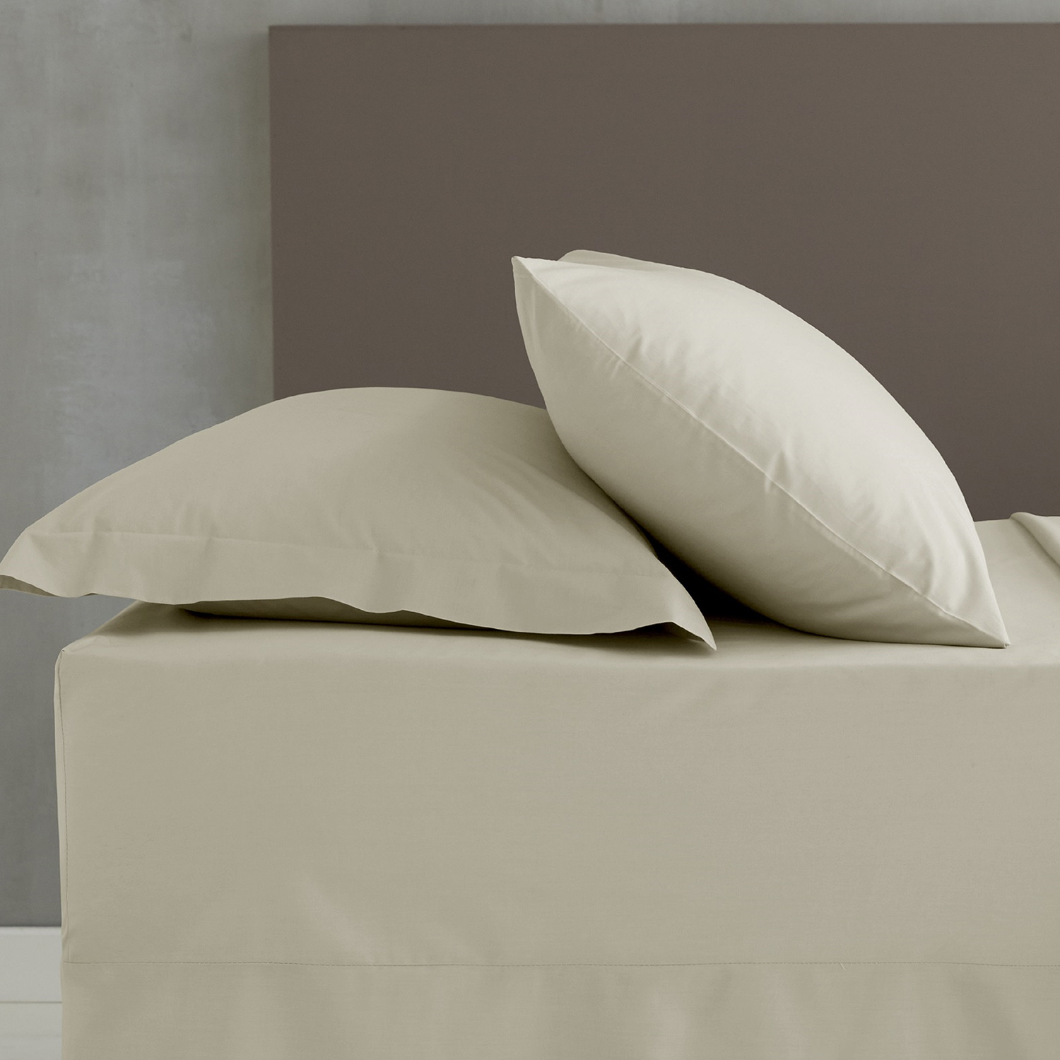 Lençol de Baixo Creme So Soft Percale