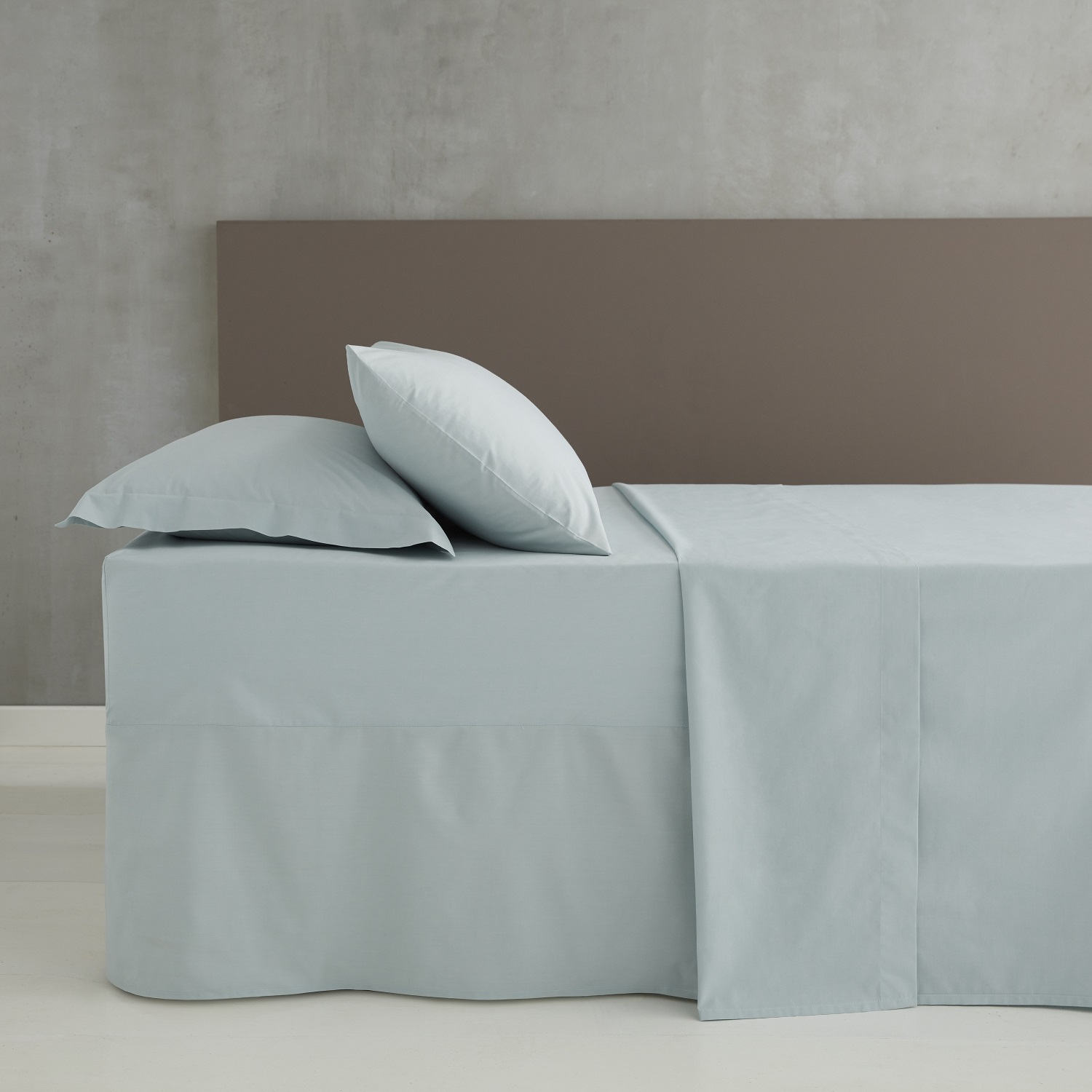So Soft Percale Lençol Duckegg Catherine Lansfield