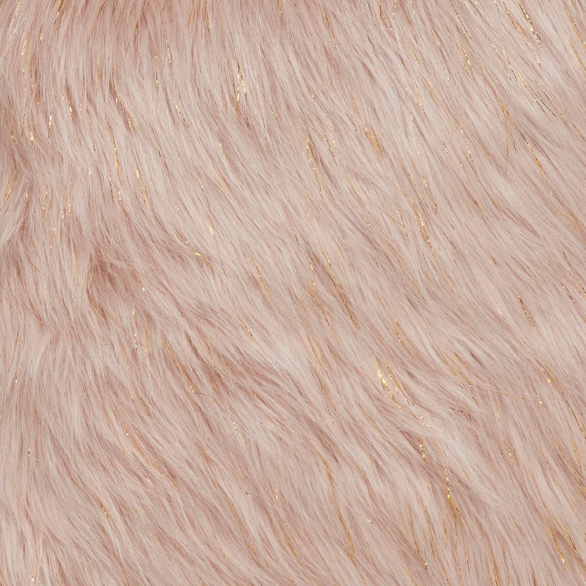 Metallic Fur Rosa
