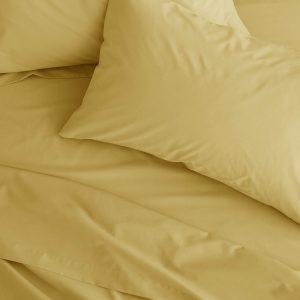 lençol cima amarelo